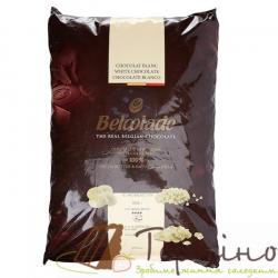 Белый шоколад в дропсами Belcolade Blanc Selection 29.5% (Бельгия), 15 кг