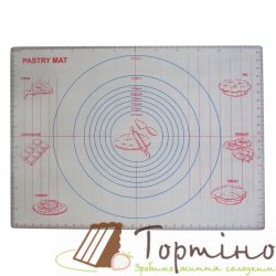 Коврик силиконовый армированный с разметкой 61* 45 см