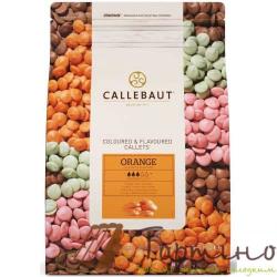 Натуральный белый шоколад со вкусом апельсина ТМ Callebaut, 50 г