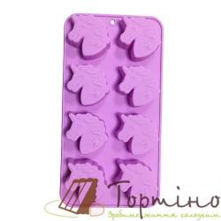 Силиконовая форма для шоколада Единорог МН-3411, 8 шт