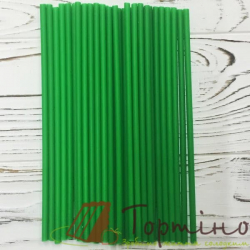 Палочки для кейк попсы Зеленые 50 шт.