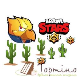 Вафельная пластина Brawl Stars 5
