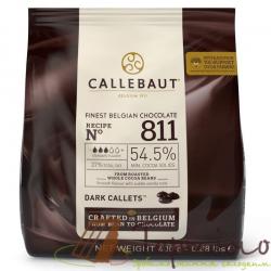 Черный шоколад Callebaut 54,5%, 400 г