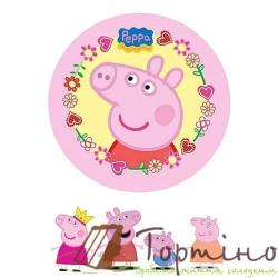Вафельная пластина Свинка Пеппа 3