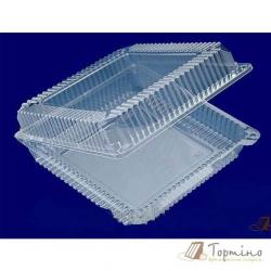 Пластиковая коробка для сладостей
