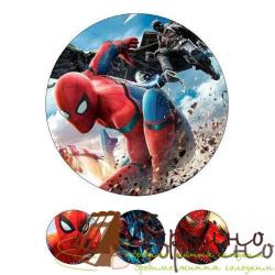 Вафельная пластина Супергерои 7