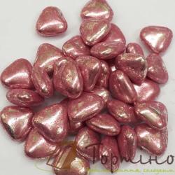 Сахарные сердечки розовые маленькие, 50 г