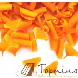 Шоколадные лепестки (апельсиновые), 60 г