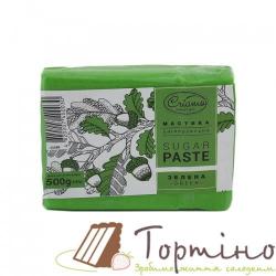 Сахарная паста универсальная Зеленая Criamo, 500 г