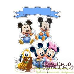 Вафельная пластина Микки Маус 11